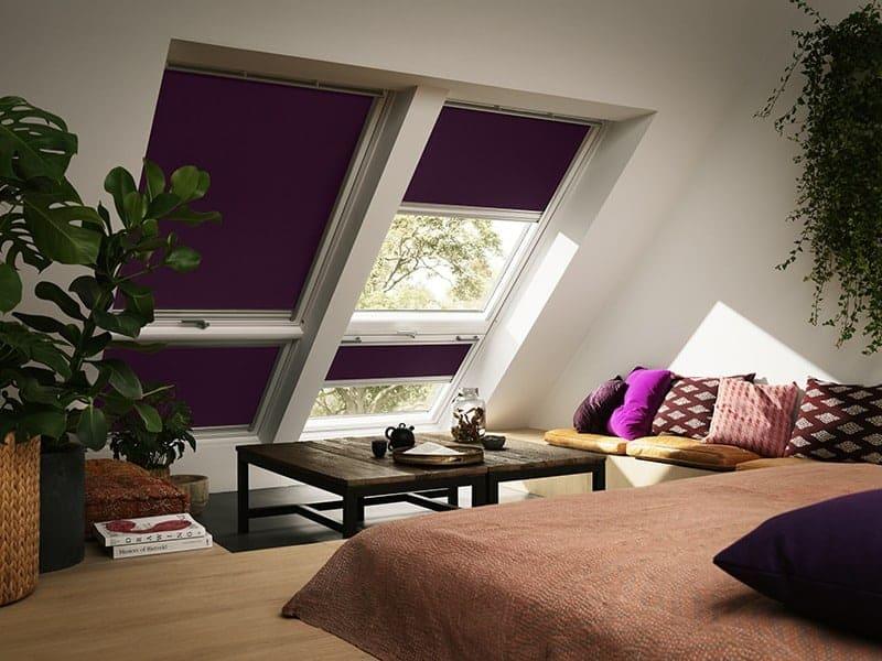 Für eine Abdunkelung des Schlafzimmers optimal geeignet: Verdunkelungsrollos von Rollo Rieper