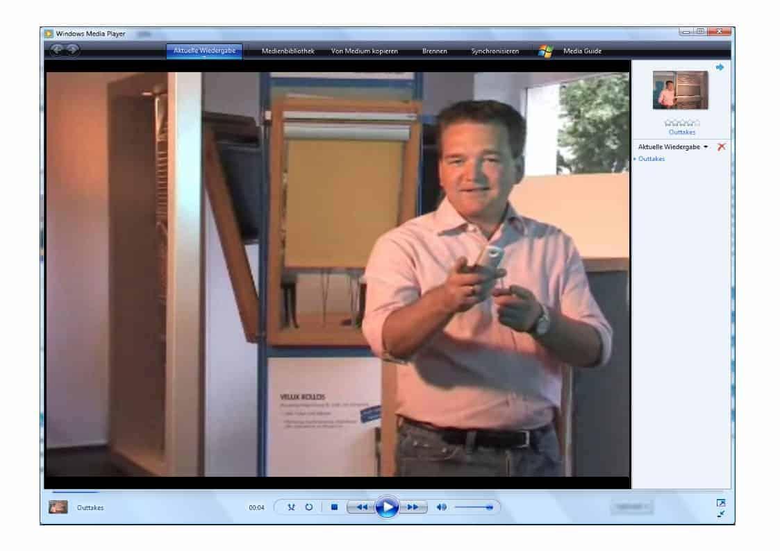 Witzige Szenen der Werbespots und Produktfilme von Rouven Rieper (vom 03.06.08)