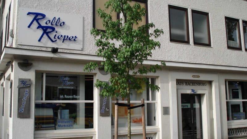 Rollo Rieper vergrößert die Bürofläche in der Humboldtstraße, Bremen (vom 11.11.08)