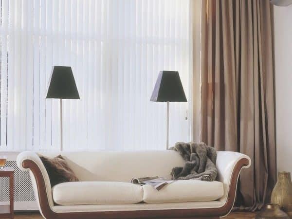 Lamellen bzw. Lamellenvorhänge für Büros werden für Wohnzimmer oder Schlafzimmer beliebter (vom 12.12.08)