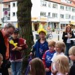 Bilder von der Jubiläumsfeier bei Rollo Rieper und Übergabe des Spendenschecks