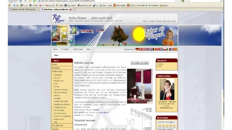 Jetzt neu: Raffrollos nach Maß mit 160 Farben im Onlineshop bestellen