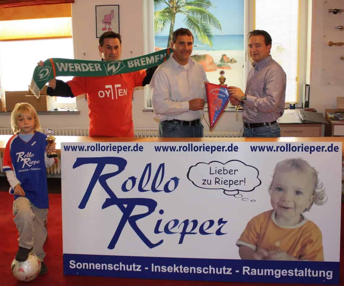Eintracht Frankfurt gewinnt den Rollo Rieper Cup 2009 gegen Werder Bremen