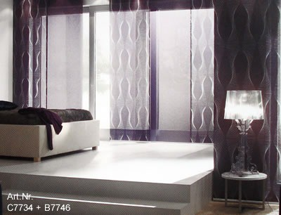 fl chenvorh nge als dekorativer sichtschutz f r ihre fenster jetzt mit vielen neuen farben. Black Bedroom Furniture Sets. Home Design Ideas