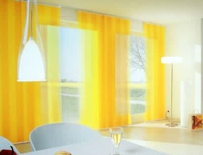 Flächenvorhänge als dekorativer Sichtschutz für Ihre Fenster – jetzt mit vielen neuen Farben