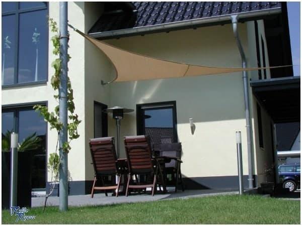 Sonnensegel als günstiger Sonnenschutz für Garten und Terrasse jetzt wieder im Online Shop von Rollo Rieper
