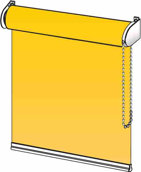 maxirollos vor dem fenster montiert k nnen auch eine gute abdunkelung des raumes erm glichen. Black Bedroom Furniture Sets. Home Design Ideas
