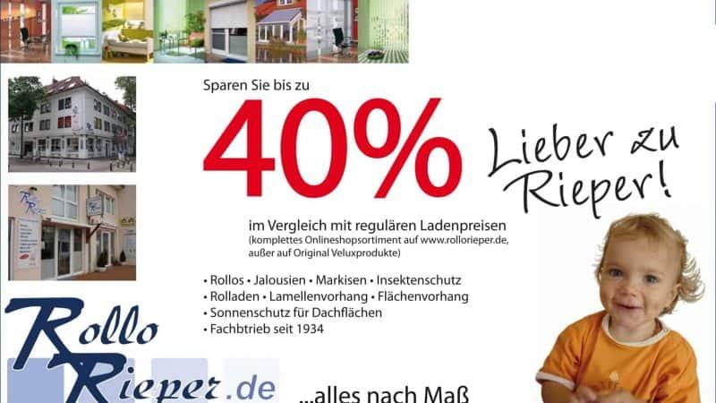 """Die beiden letzten Tage der Sonderaktion """"Internetpreise in der Humboldtstraße: bis zu 40% Rabatt"""" sind angebrochen"""