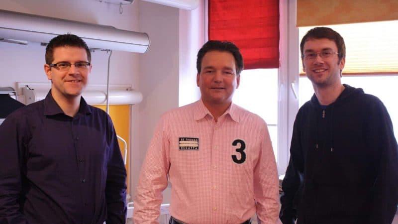 Rollo Rieper stellt zwei neue Mitarbeiter für den Verkauf und die Verwaltung ein