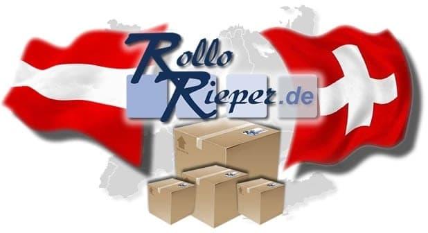 Immer mehr Bestellungen und Lieferungen aus Österreich und der Schweiz auf RolloRieper.de