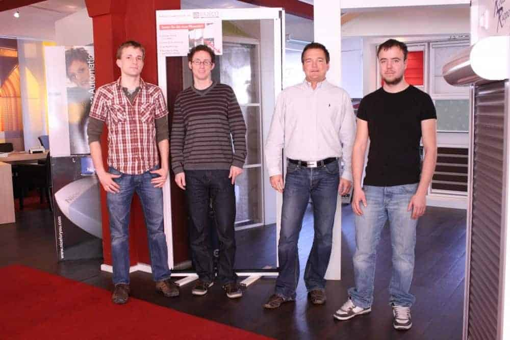 rollo rieper aus bremen stellt vier neue mitarbeiter ein. Black Bedroom Furniture Sets. Home Design Ideas
