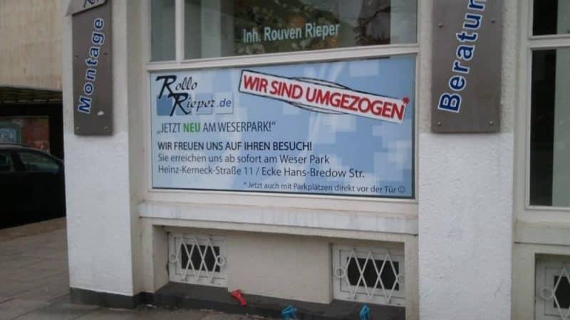 Umzug aus der Humboldtstraße in die Heinz-Kerneck-Straße 11 am Weser-Park in Bremen erfolgreich abgeschlossen