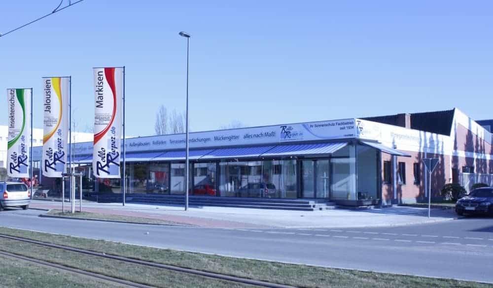 Die neue Zentrale von Rollo Rieper am Weserpark in Bremen