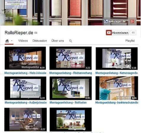 Videos: Montage von Rollos, Rollläden und Plissee – mit den Anleitungen von Rollo Rieper jetzt noch einfacher!