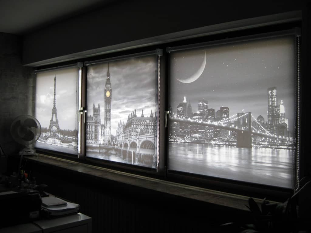Studio mit Fotorollos von Rollo Rieper