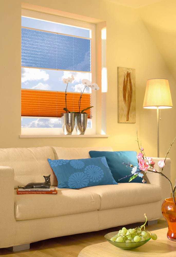 neu plissee vs 2 2 tag nacht system mit zwei stoffbahnen in einem system jetzt online. Black Bedroom Furniture Sets. Home Design Ideas