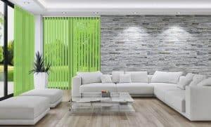 Lamellenvorhang EcoLine Farbe H319 von Rollo Rieper