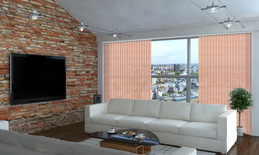 Lamellenvorhang EcoLine Farbe H350 von Rollo Rieper