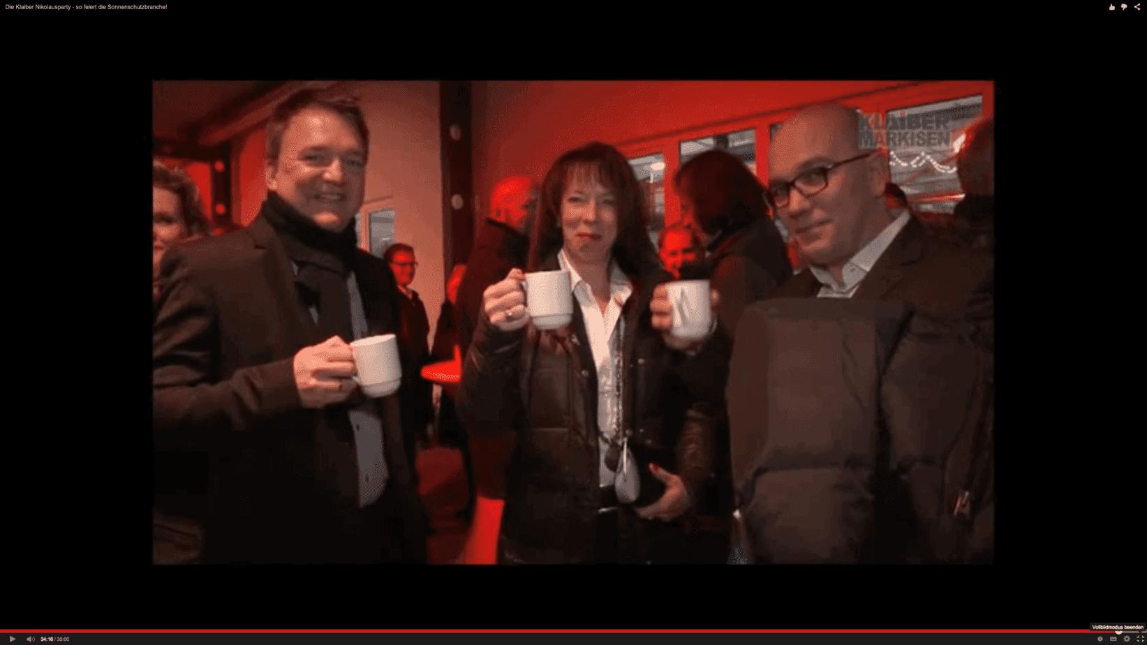 Gelungene Nikolausparty mit Premiumpartner Klaiber Markisen und vielen prominenten Gästen