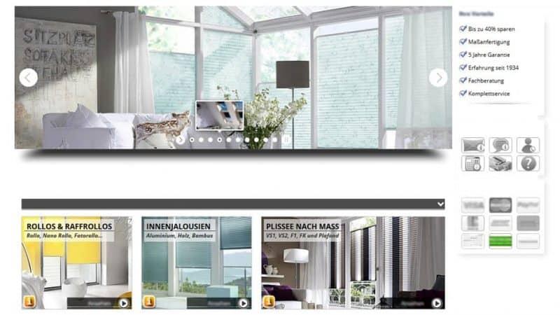 Neue Übersicht , modernere Gestaltung und Tablet-Anpassung: der Onlineshop von Rollo Rieper im neuen Design