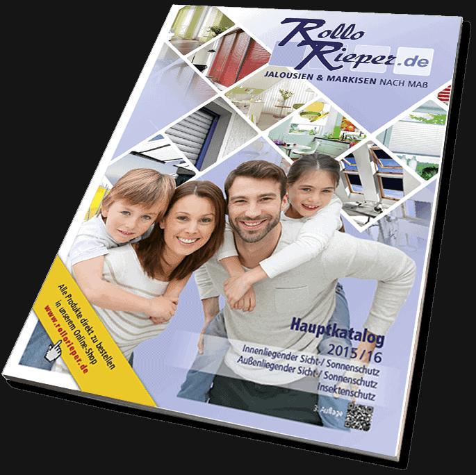Der neue Katalog von Rollo Rieper mit Sonnenschutz nach Maß
