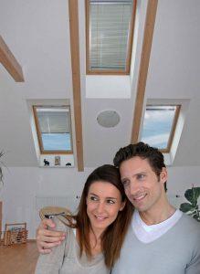 Die Innenjalousie für Dachfenster: die maßangefertigte DF Comfort