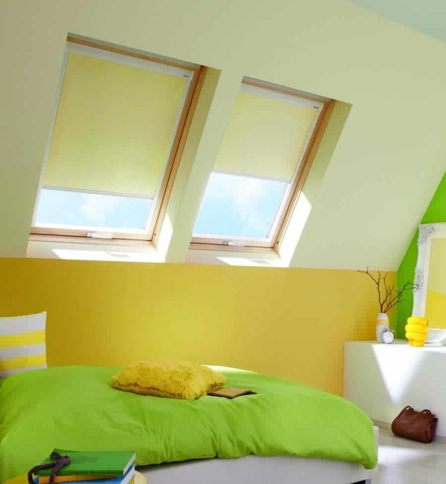 Verdunkelungsrollo für Dachfenster von Velux, Toto oder Fakro