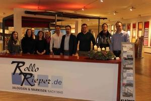 Das Team von Rollo Rieper zwischen Weihnachten und Neujahr