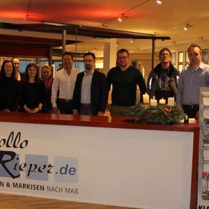 Auch zwischen Weihnachten und Silvester ist Rollo Rieper mit einem kleinen Team für Sie da!