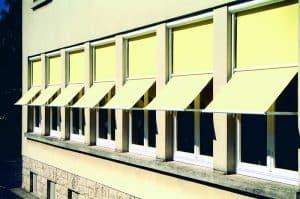 Fassadenmarkisen: Markisolette Nano 300