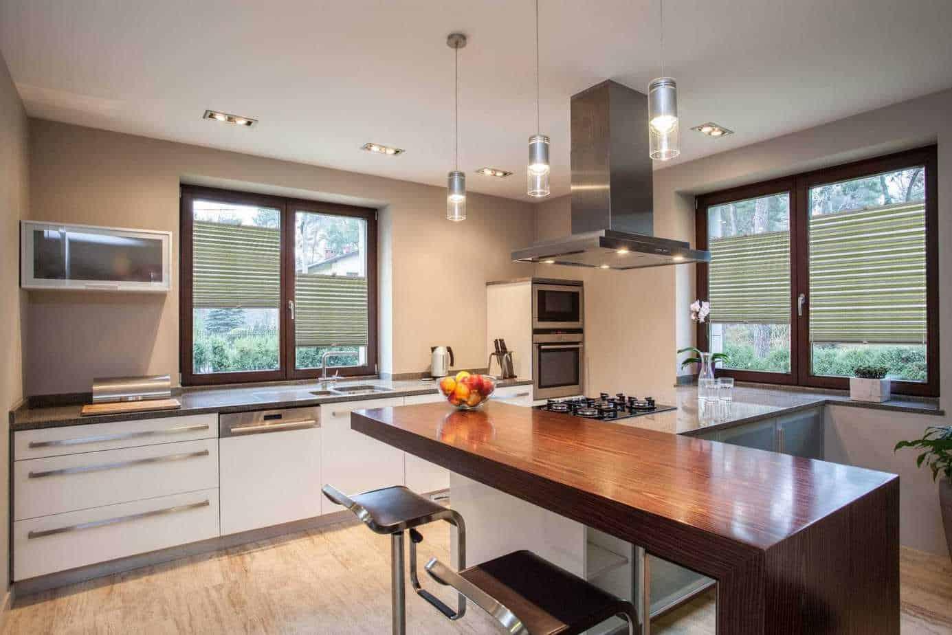 Plissee für Ihre Küche: wohnlich, praktisch, flexibel
