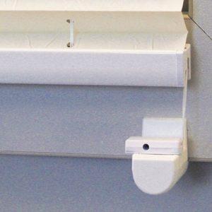 Plissee ohne Bohren mit Klemmträgern von Decomatic