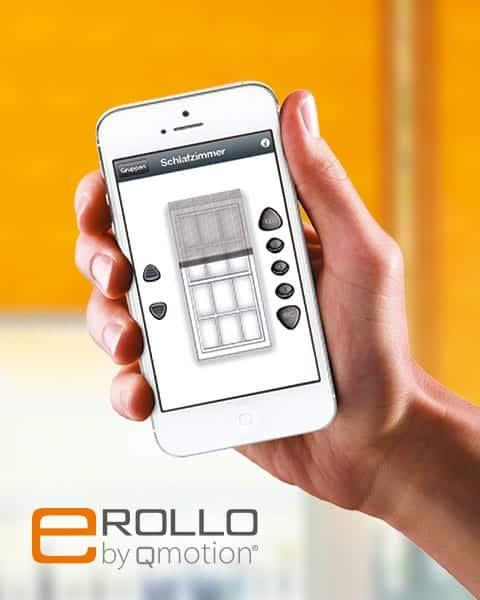 Das smarte eRollo gibts jetzt auch bei Rollo Rieper