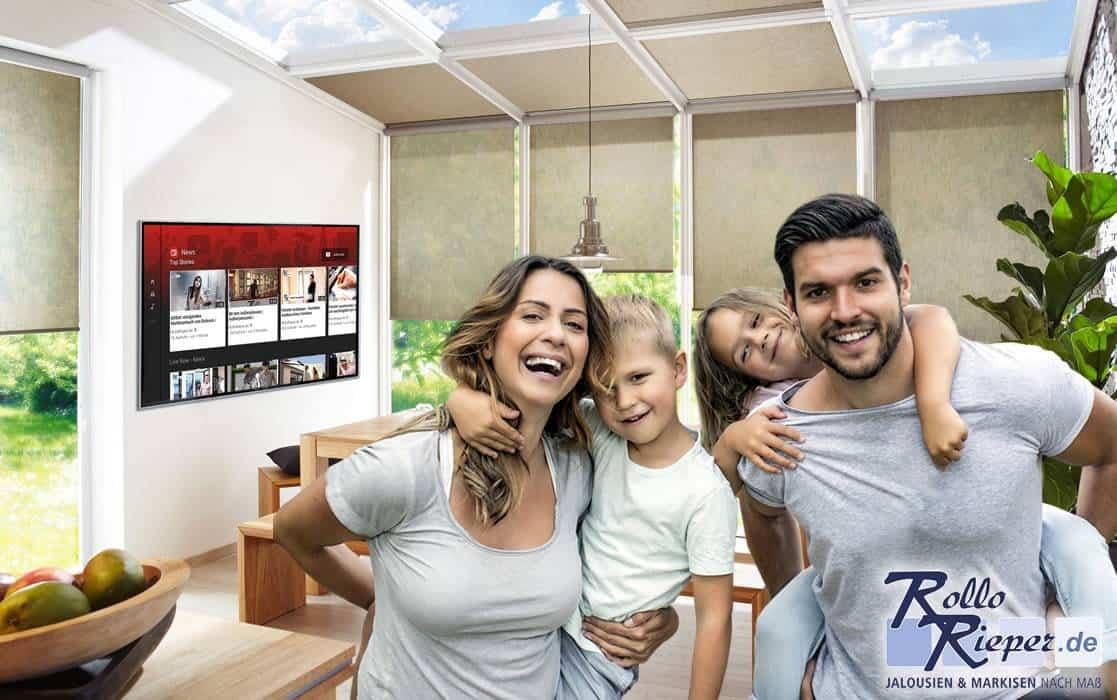 Der richtige Blendschutz für Fernseher oder Bildschirme: unsere 3 Rollo Favoriten!