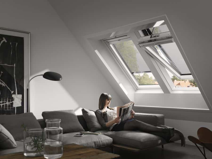 Velux Hitzeschutz Markisen fördern das Wohlbefinden unterm Dach