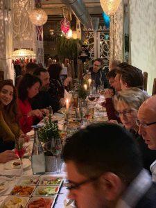 Rollo Rieper Weihnachtsfeier im Al Dar, Bremen Überseestadt