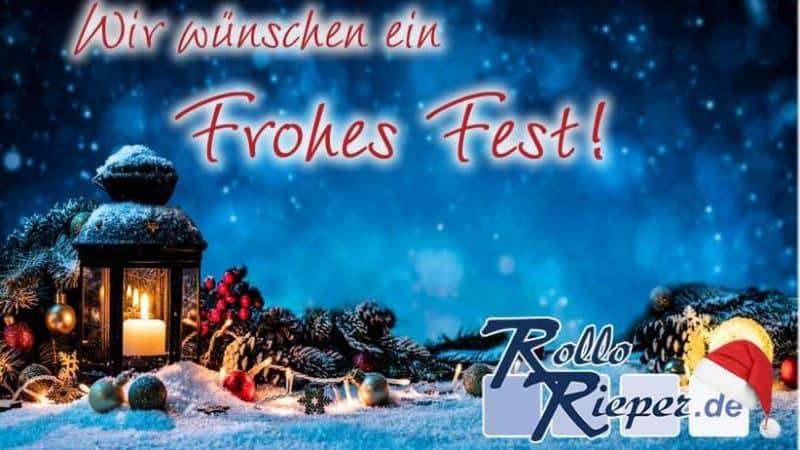 Jetzt wird´s besinnlich: Rollo Rieper feiert Weihnachten und freut sich auf das kommende Jahr 2019