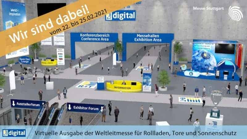 Sonnenschutz Messe R+T Digital: Ein virtuelles Erlebnis