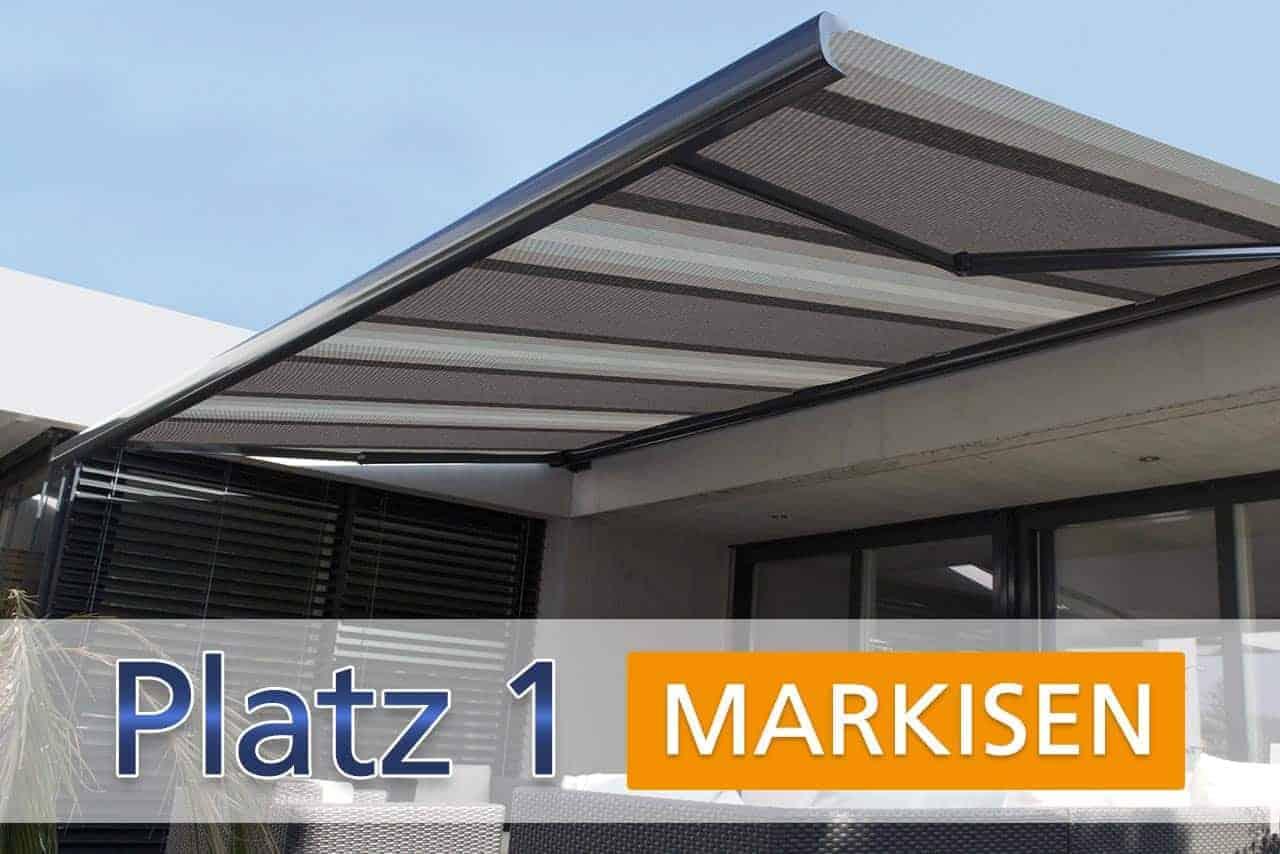 Platz 1: Markisen