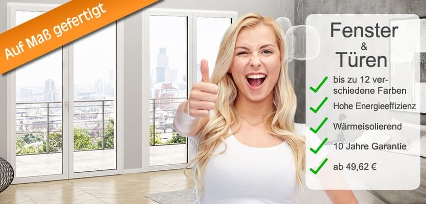 Kunststofffenster und t ren nach ma mit 40 preisvorteil for Kunststofffenster einstellen