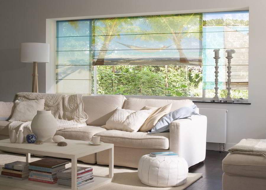fotoraffrollos nach ma g nstig online kaufen. Black Bedroom Furniture Sets. Home Design Ideas