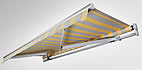 Folding arm awning Eco 600 as an affordable entrance