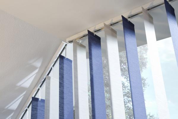 ecoline slope schr glamellenvorh nge von rollo rieper. Black Bedroom Furniture Sets. Home Design Ideas