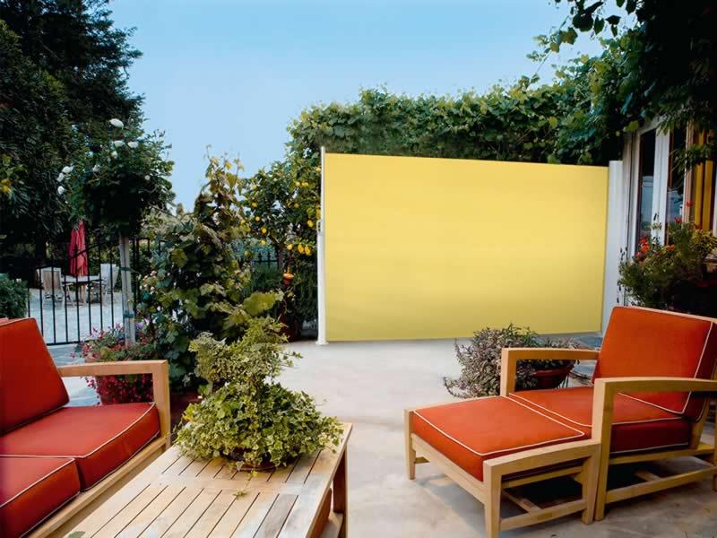 seitenbeschattung f r balkon und terrasse. Black Bedroom Furniture Sets. Home Design Ideas