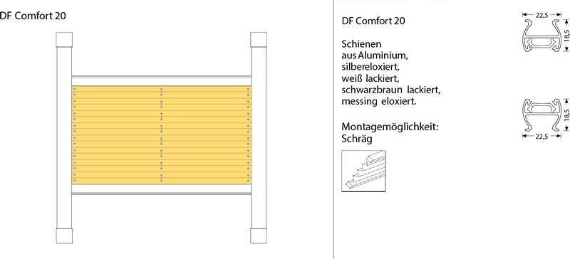 df20 comfort plissee g nstig nach ma. Black Bedroom Furniture Sets. Home Design Ideas