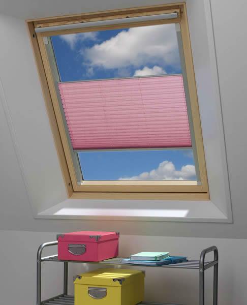 plissee fr roto dachfenster affordable lichtblick haftfix x cm b x l with plissee fr roto. Black Bedroom Furniture Sets. Home Design Ideas