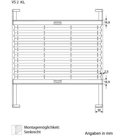 plissee vs1 und vs2 auf g nstig kaufen. Black Bedroom Furniture Sets. Home Design Ideas