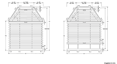 vs6 plissee g nstig nach ma. Black Bedroom Furniture Sets. Home Design Ideas