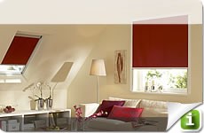 Roller blinds, Roman blinds, Vario roller blinds and Nano roller blinds made to measure