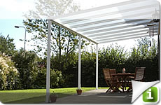 Individually configurable terrace canopy